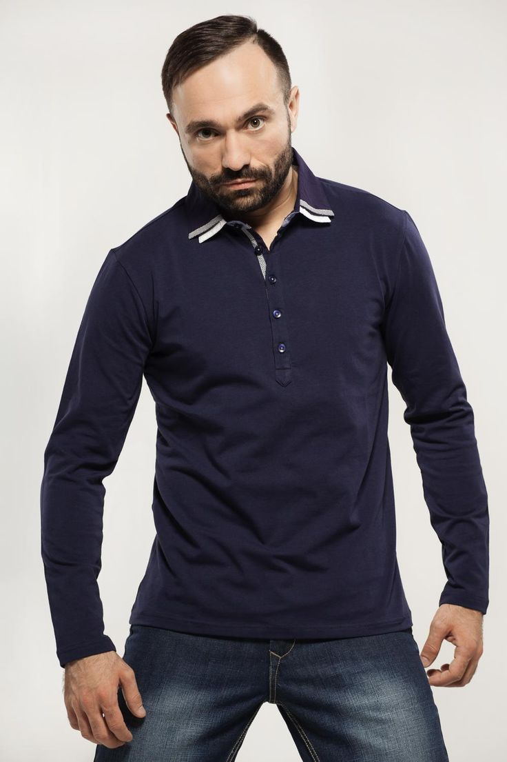 Polo Long Sleeves Stretch MAVANGO AW-14  M-42717-A51DS