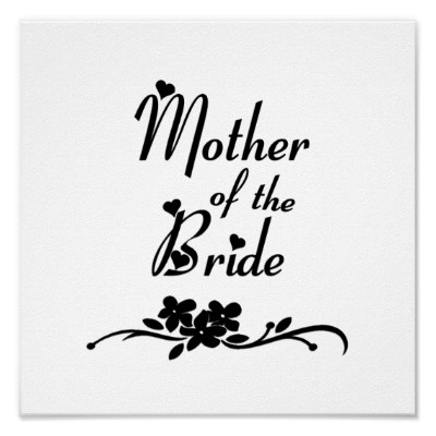 Classic Mother of the Bride Poster