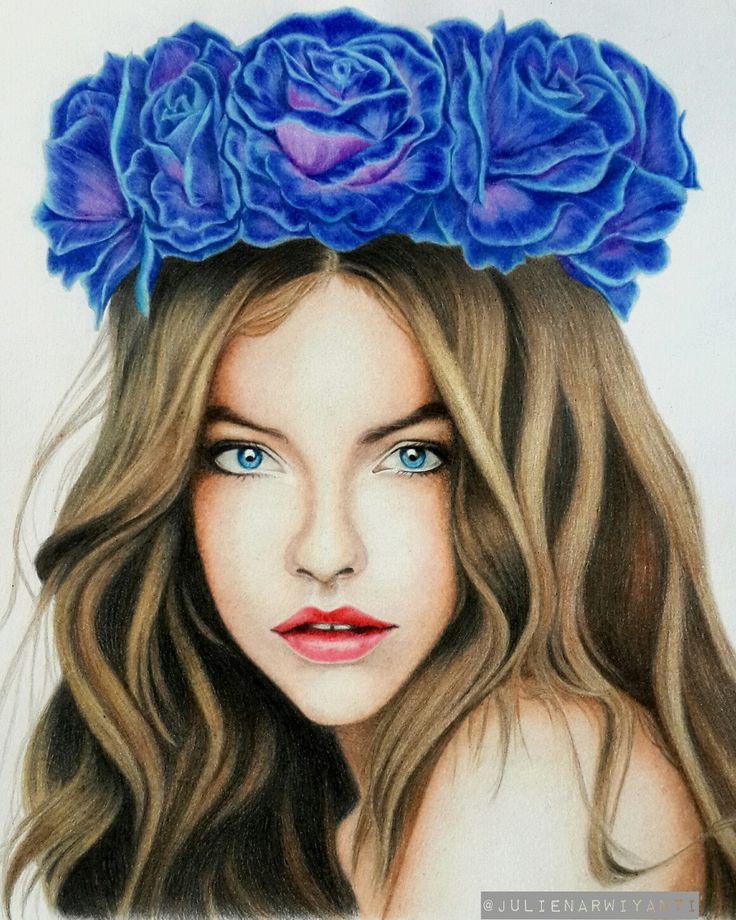Barbara Palvin drawing