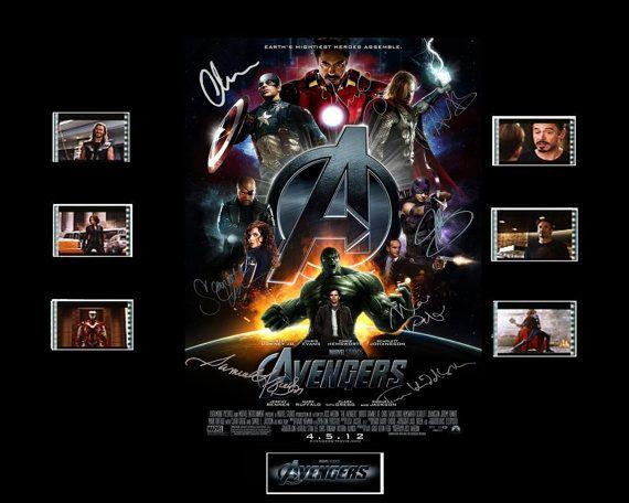Avengers Film Cell Presentation : Movie Poster 2