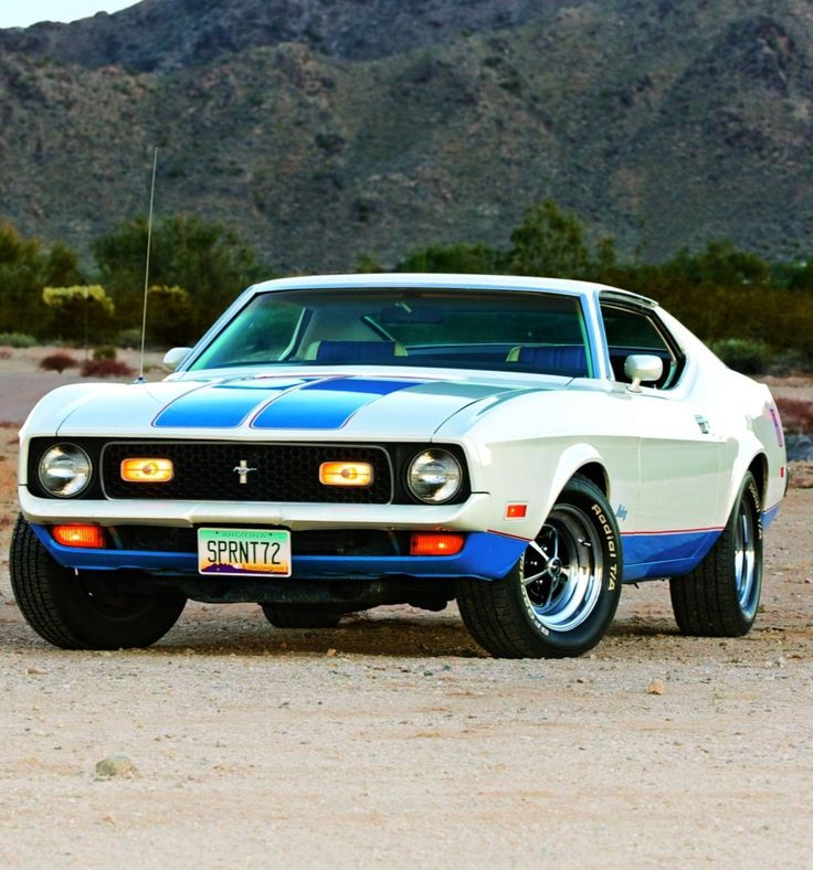 Photo Courtesy: Jeff Koch Spirited Spirit - 1972 Ford Mustang Sprint