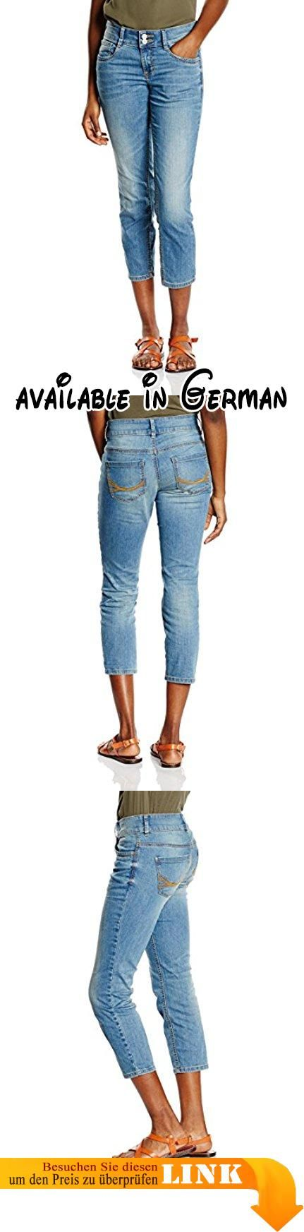 TOM TAILOR Damen 7/8 Jeanshose Jeans Alexa Slim/603, Gr. W32/L32, Blau (stone wash denim 1054). TOM TAILOR Damen Jeanshose #Apparel #PANTS