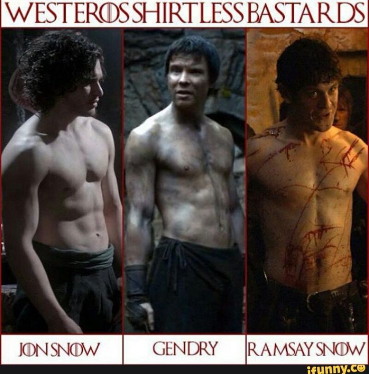 Jon snow gendry Ramsay Bolton. Game of thrones