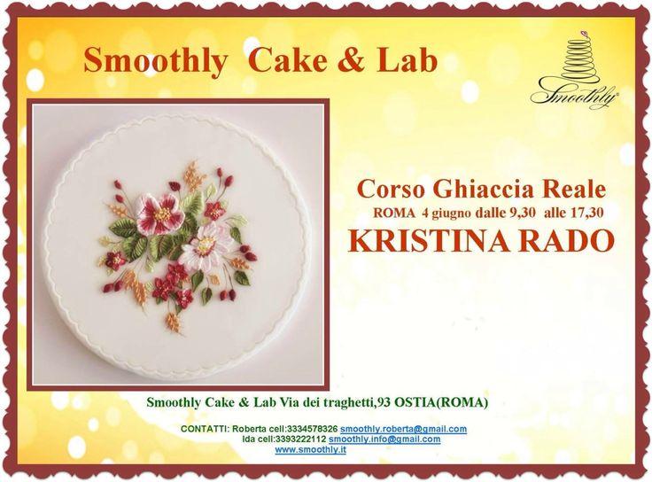 I meravigliosi fiori in ghiaccia e colore con Kristina Rado ..iscrizioni aperte