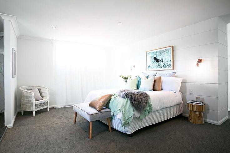 The real reno by Three Bird Renovations #bunningscarpet #bedroom