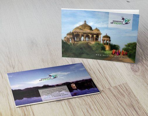 Brochure Design for Essence of India, Ranthambore