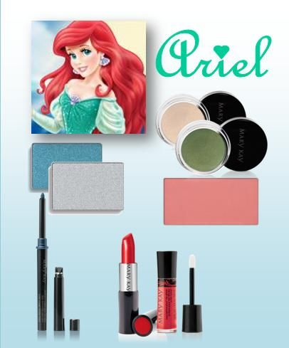 Ariel themed Mary Kay color set.