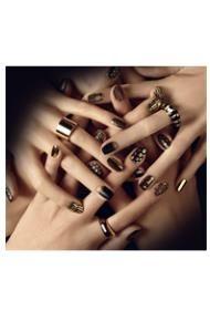 домашний маникюр на коротких ногтях