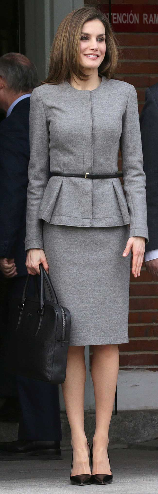 Queen Letizia of Spain attended a working meeting of the Spanish Agency for International Cooperation for Development (AECID) at AECID headquarters on March 7, 2017 in Madrid.
