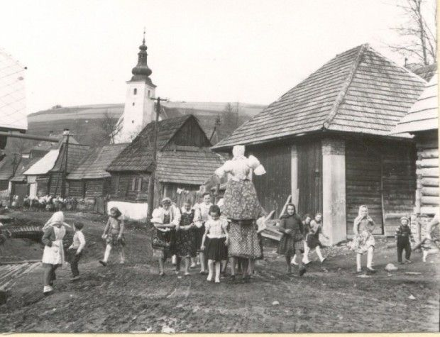 Smrtná nedeľa :: Slovenské zvyky a tradície