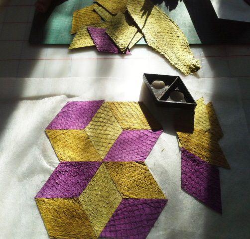 Manta e seus desenhos | Quilt and its possible designs.