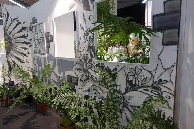 Das blumige Zukunftslabor/Futur Lab beim FDF auf der Internationalen Pflanzenmesse IPM ESSEN 2016 in der FDF-World  Eine gemeinsame Initiative von Fachverband Deutscher Floristen und Florismart Deutschland und Projektpartnern