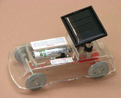 7005-10 Solar Car Electricity