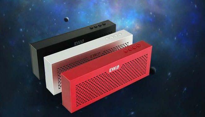 Ewa D503 ультра-дешевый тонкий динамик Bluetooth колонки руки - вызов колонки алюминиевый сплав лучший подарки