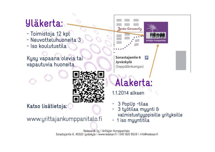 Lisää tilaa! http://www.yrittajankumppanitalo.fi/toimitilavuokraus/