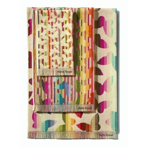 Josephine Bath Towel in Multi Colours by Missoni Home