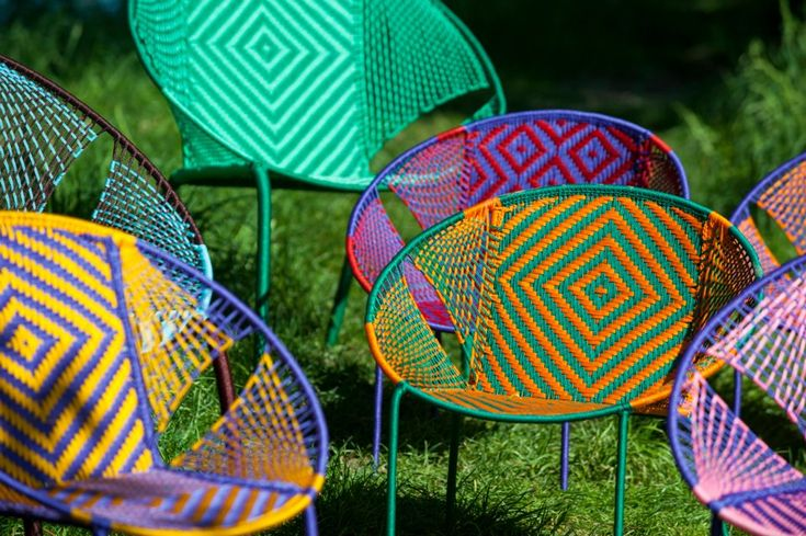 Handmade chairs from Senegal