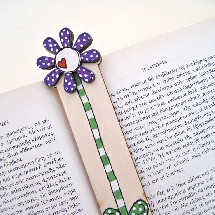 Bookmark, wood burned bookmark, Pyrography, unique gift for book lovers, purple flower by DreamBigHandmade on Etsy