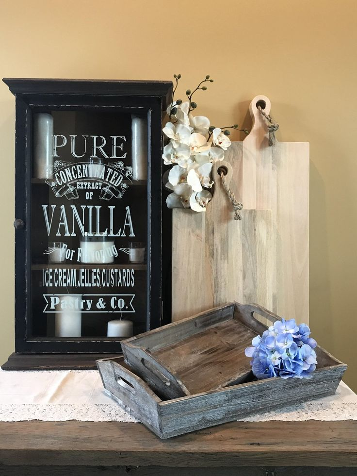 This vintageinspired Vanilla Extract Display Case
