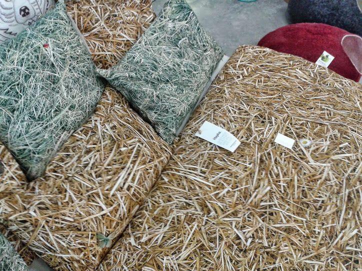 Straw patterned bedlinen by hayka.eu