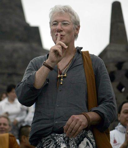 Richard Gere, viaggio e meditazione