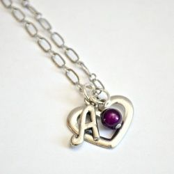 See how I created similar but uniquely personal monogram jewelry for a group of friends.