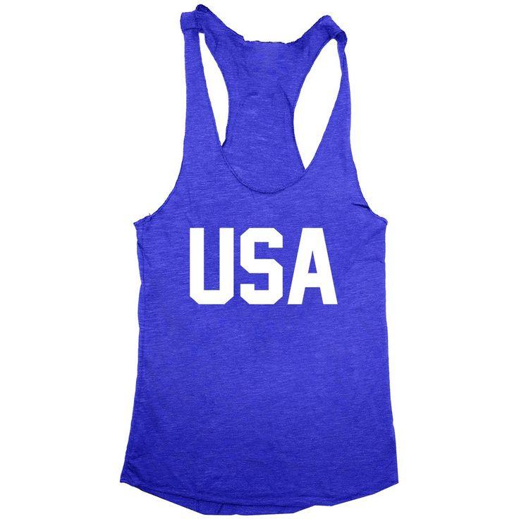 USA Patriotic Tank Top