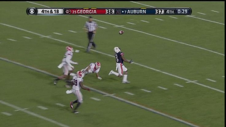 Auburn vs. Georgia 2013 (Winning TD) and Final Play. Auburn radio play-by-play announcer Rod Bramblett's call on Nick Marshall's stunning, tipped-ball Hail Mary to Ricardo Louis. A miracle @ Jordan-Hare!