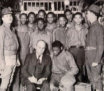 The Scottsboro Boys. No crime in American history-let alone a crime that never occurred-produced as many trials, convictions, reversals, and retrials as did an alleged gang rape of two white girls by nine black teenagers on March 25, 1931. 82 years later, on April 4, 2013, the Alabama legislature unanimously voted to pardon the accused.