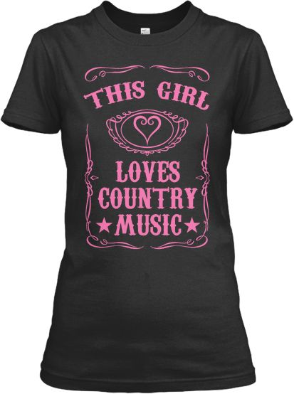 This Girl Loves Country Music Tee
