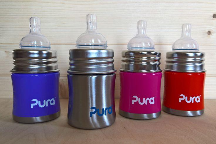 Pura-Babyflaschen-125/150ml-Set