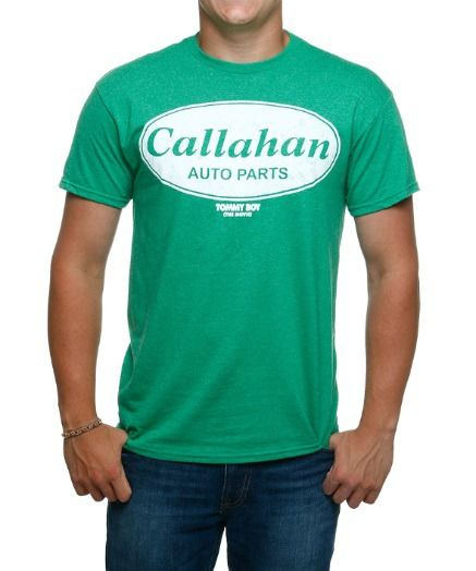 #tshirts #customtshirts Tommy Boy Callahan Auto T-Shirt: Tommy Boy never gets old so rock out in this classic shirt… #bandtshirts #bandtees