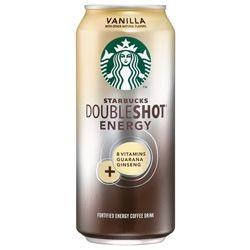 Starbucks DoubleShot Energy Coffee Vanilla - 16oz (12 Pack)