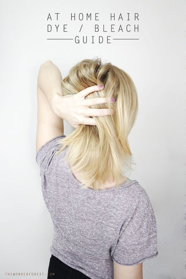 When I was thirteen years old, I thought it would be a good idea to try to bleach my hair at home. I wanted the whitest platinum blonde colour and had watched my brother bleach his hair countless time