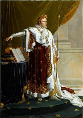 Anne-Louis Girodet de Roussy-Trioson : Napoléon 1er en costume de sacre.