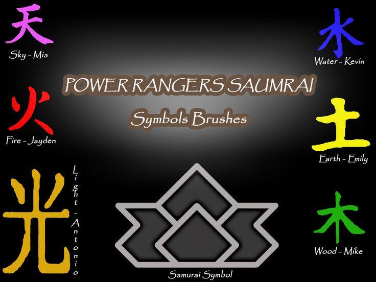 power ranger samurai symbols - Google Search