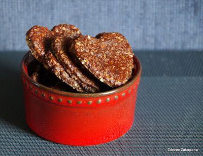 Zdrowo zakręcona: Proste i pyszne ciastka czekoladowe. Bez mąki i cu...