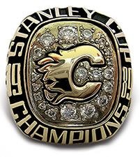 Calgary Flames - 1989 Stanley Cup Ring
