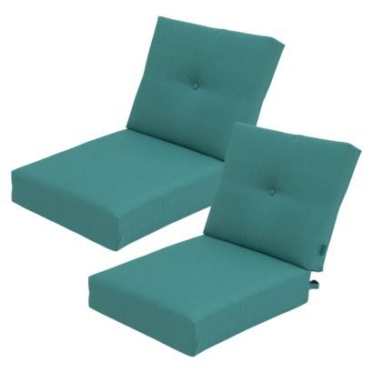 Threshold™ Squier Replacement Club Chair & Loveseat Cushion Set in  Turquoise available at Target. - 464 Best Images About Outdoor Cushions On Pinterest Patio