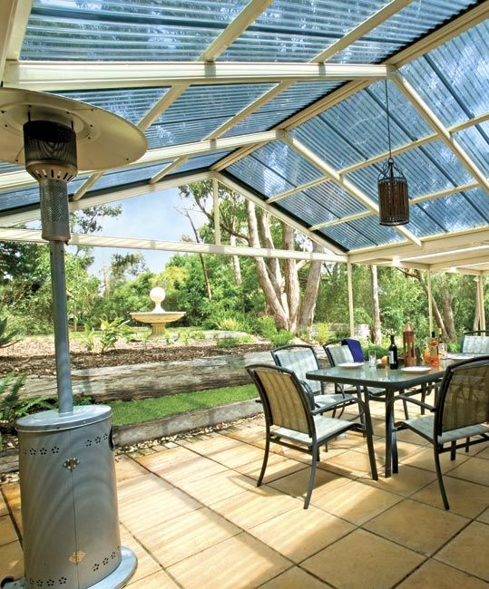Stratco Outback Gable - Awnings, Carports, Pergolas, Verandahs and Patios