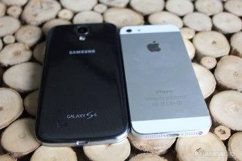 Samsung Galaxy S4 vs. iPhone 5