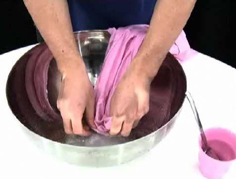 Cómo quitar los cercos de sudor de la ropa