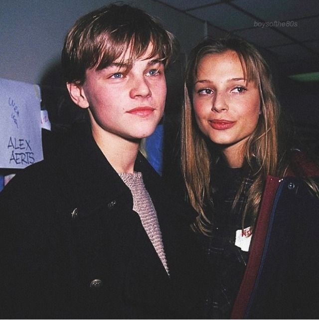 "boysofthe80s: ""Leonardo DiCaprio & Bridget Hall, 1994 "" #leonardodicaprio #dicaprio #90s #80s #fashion #style #young #beautiful #old #photo #vintage #inspiration #love"