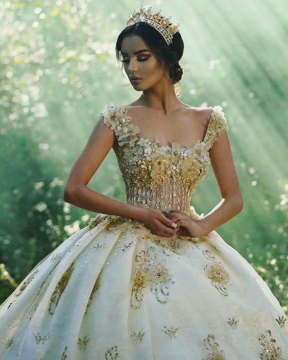 Vestidos de novia para piel morena