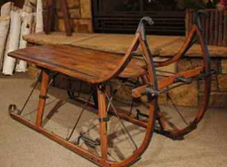 1000 images about sleds and such on pinterest antiques chairs and coffe table Antique sleigh coffee table