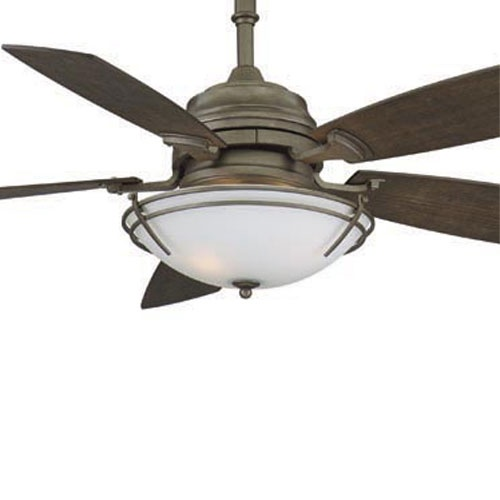 Fanimation hubbardton forge presidio tryne ceiling fan in dark smoke craftsman ceiling fans