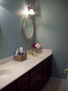 Light Silver Sage Paint Bathroom Homegoods Beaded Mirror Frames