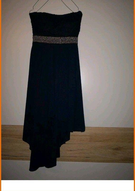 Kleid Wurde Nur Einmal Getragen Vokuhila Kleid Abschlussball Kleider Schwarzes Kleid