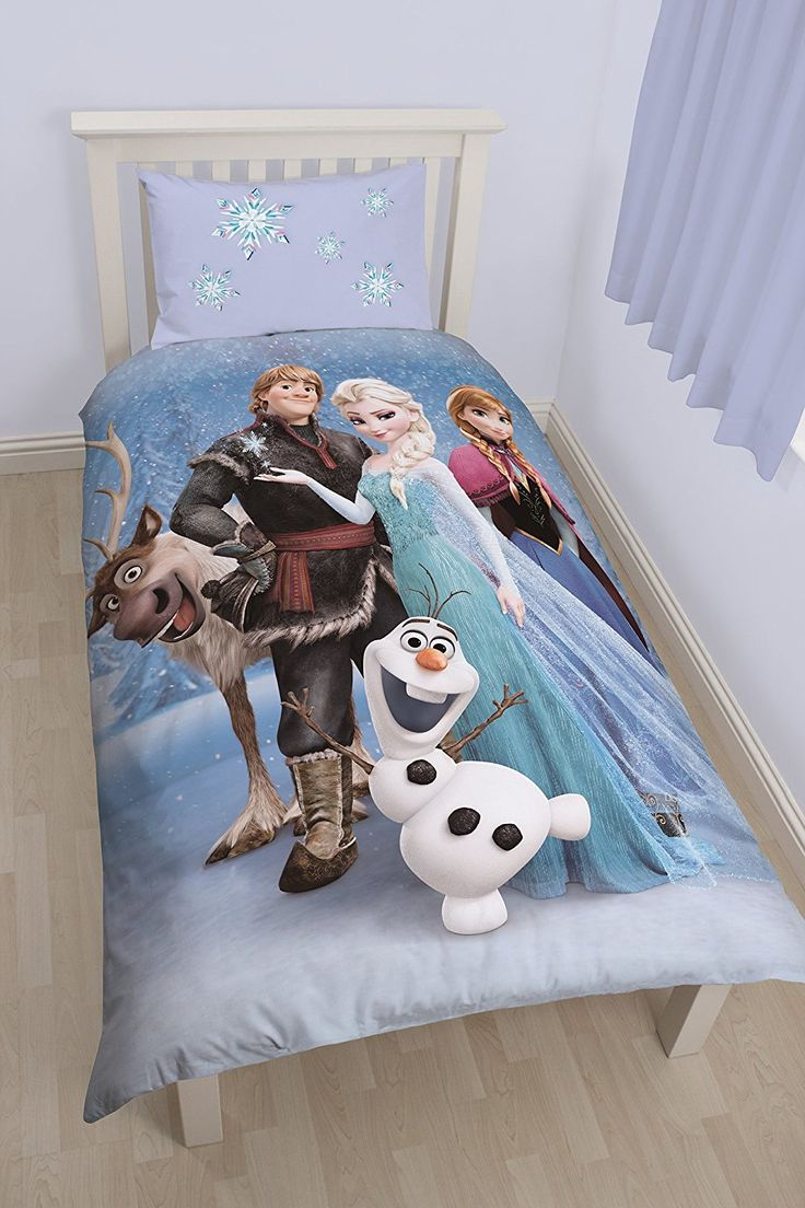 Disney Frozen Stellar UK Single/US Twin Duvet Cover and Pillowcase Set //Price: $15.01 & FREE Shipping //     #hashtag4