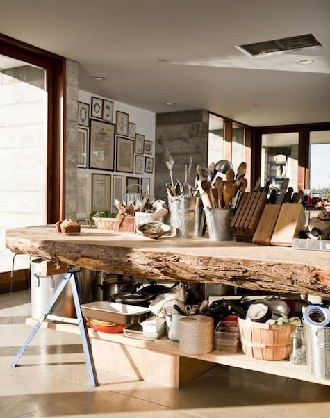 lovely counter: Kitchens, Ideas, Interior, Wood, Dream, Table, House, Kitchen Islands